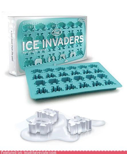 geeky Ice invaders Kitchen Gadget space invaders - 3805379840