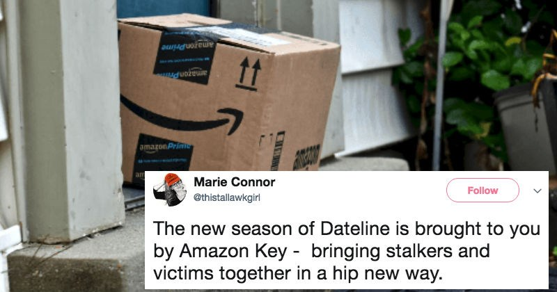 People are scared after Amazon's announcement about delivery drivers being allowed into people's home.