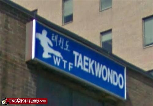 business names signs taekwondo wtf