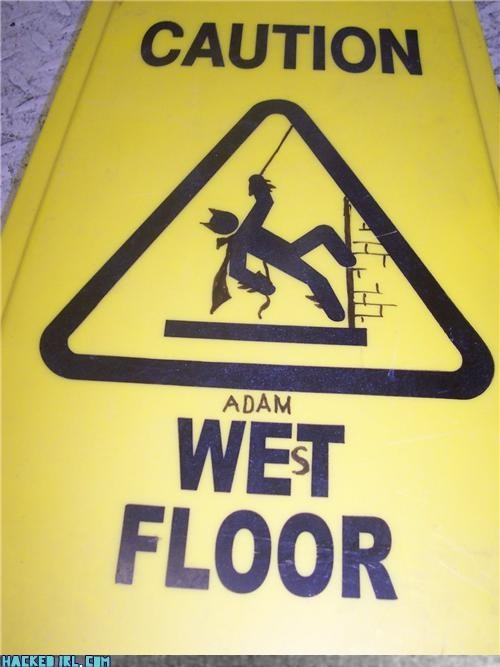 caution superhero
