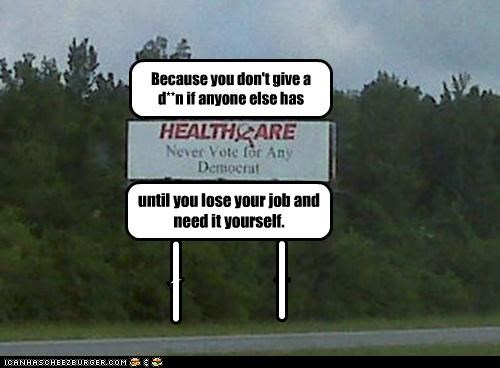 funny health care lolz sign - 3810241792