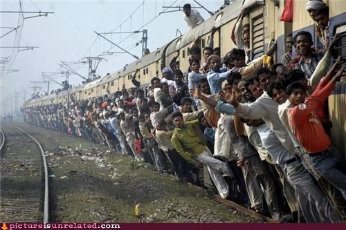 OverKill 9000 people ride train wtf - 3811686656