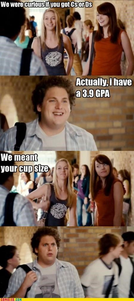 boobs celebutard cups fat jokes high school jonah hill super bad - 3811695360