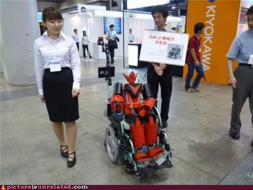 handicapped robots wheelchair wtf - 3811768320