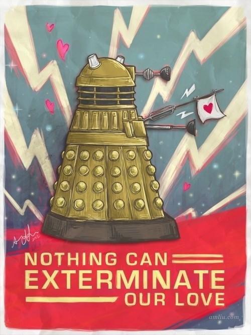 doctor who Valentines day Whovian - 381189