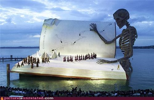 book doom huge paper skeleton wtf - 3812036864