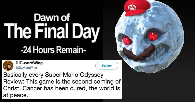 Super Mario Odyssey Is Amazing And The Internet Can't Control Itself