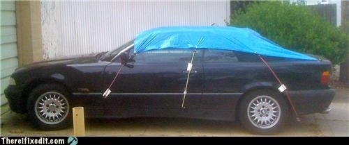 car,convertible,Kludge,tarp,waterproof