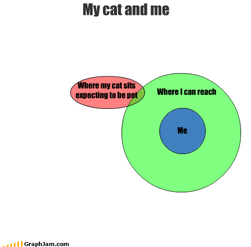 cat couch kitteh lazy stretch venn diagram - 3818017536