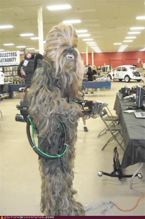 Ghostbusters,movies,star wars,wookie,wtf