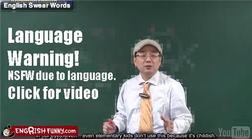 cursing korean language slang translations Video