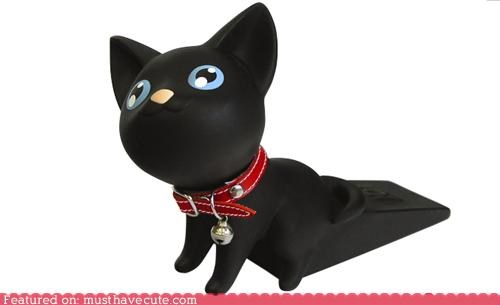 Cats,door stop,gadget,kawaii