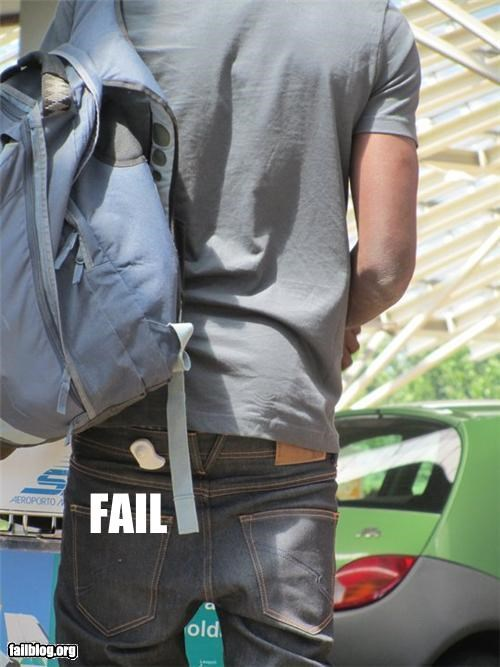 clothes failboat pants security tag - 3822557440