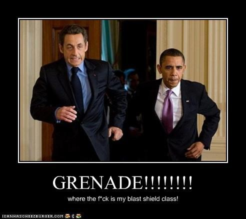 GRENADE!!!!!!!! where the f*ck is my blast shield class!