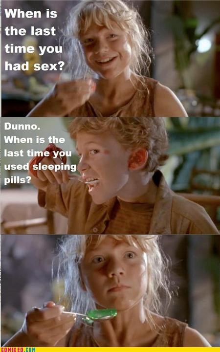 creepy From the Movies jurassic park pedo sleeping pills wtf