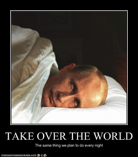 demotivational funny lolz Vladimir Putin vladurday - 3823907328