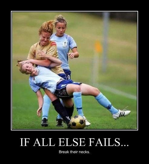 break bones death sport girls Hall of Fame ouch Pure Awesome soccer sports Terrifying - 3824080384