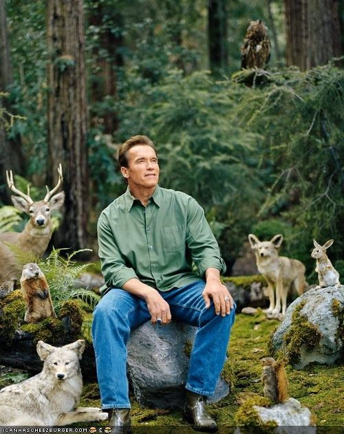 Arnold Schwarzenegger captionable funny news photo op Republicans