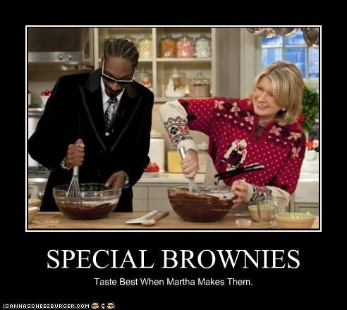 SPECIAL BROWNIES Taste Best When Martha Makes Them.