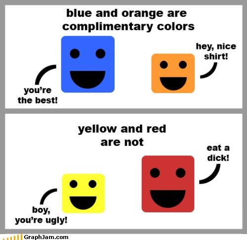 color wheel learning is fun puns - 3825296640