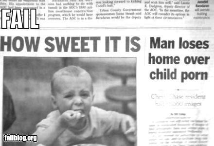 failboat headlines newspaper postions Probably bad News - 3825299200