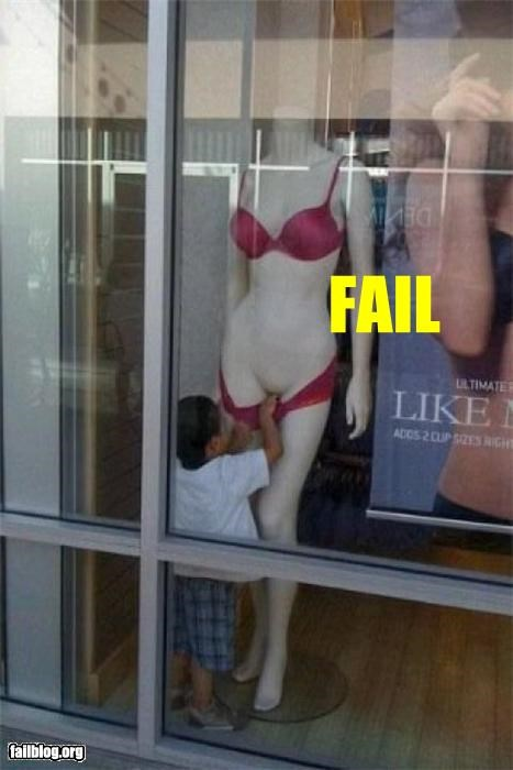 failboat,growing up too fast,kids,mannequin,no touching,parents
