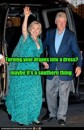 bill clinton,fashion,funny,Hillary Clinton,lolz