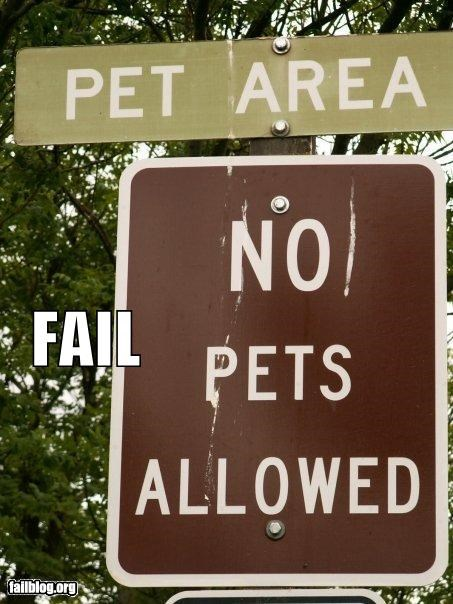 failboat g rated no pets pets signs - 3827095552