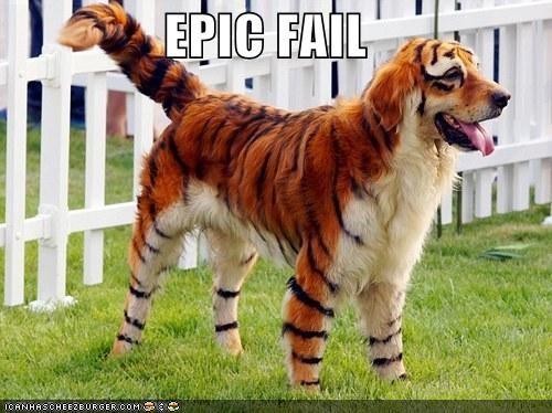 bizarre Hall of Fame paint tiger weird - 3827548160