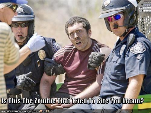 funny lolz police zombie - 3830001152