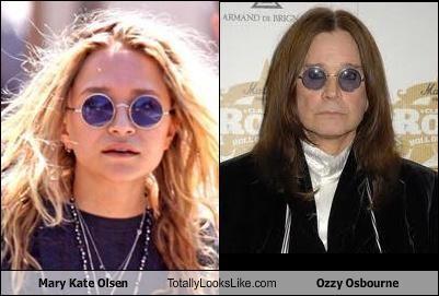 Mary Kate Olsen Ozzy Osbourne - 3830761216