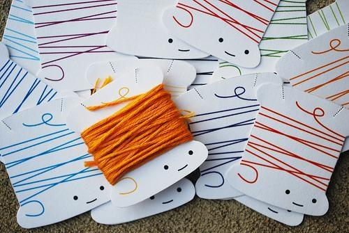 cute thread bobbins embroidery thread free printables - 3830869248