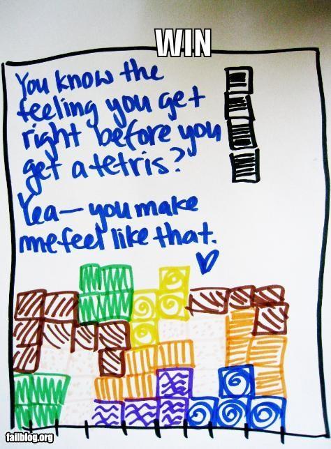 failboat g rated love notes nerd tetris video games win - 3831409664