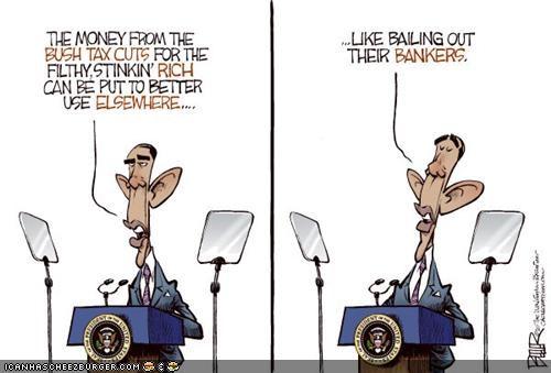 barack obama cartoons economy funny - 3831442688