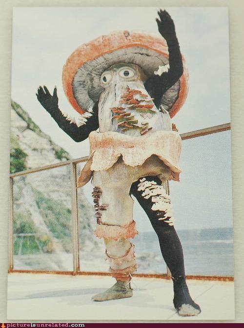 costume creepy mushroom superhero wtf - 3832969472