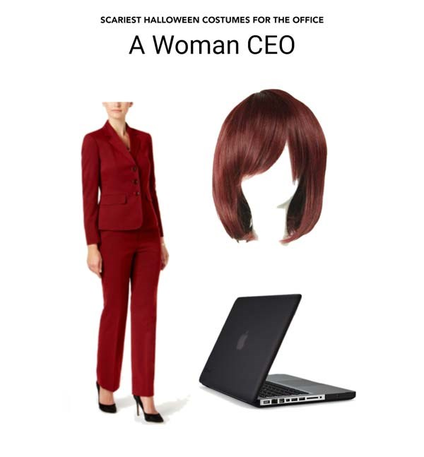 SCARY COSTUMES FOR THE OFFICE