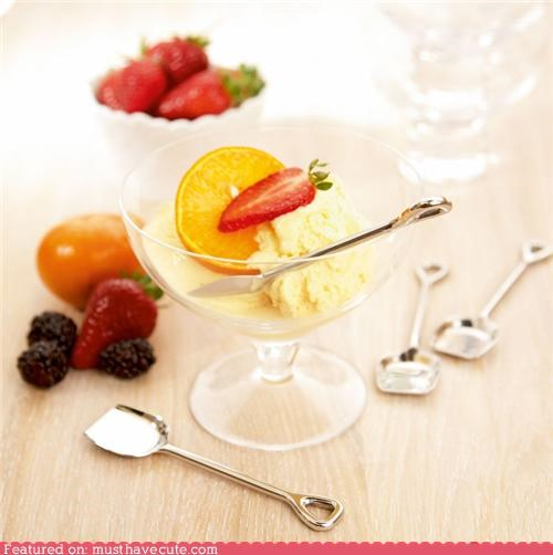 cute ice-cram spoons cute-kawaii-stuff Kitchen Gadget shovel spoons - 3833776384