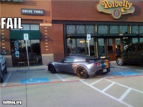 car douche bag failboat parking - 3834974976