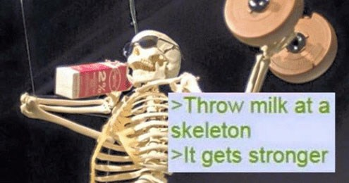 Funny, spooky and scary memes and comics about skeletons and the skeleton wars, halloween.