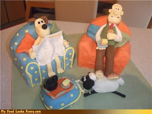 animation,cheese,claymation,england,english,films,grommit,wallace,wallace and grommit