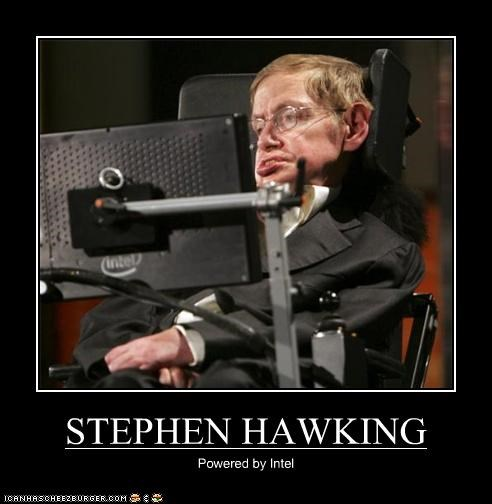 STEPHEN HAWKING Powered by Intel