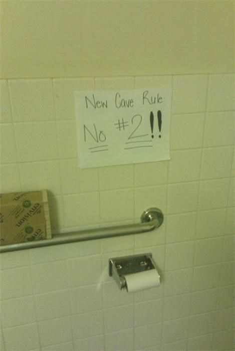 awesome co-workers not barfing basic instructions bathroom cubicle fail depressing dickhead co-workers dickheads dumb gross mess paper signs pee piss pissing poop pooping everywhere Sad screw you signage stupid toilet graffiti - 3838012672