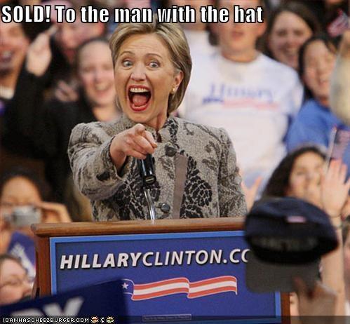 Democrat funny Hillary Clinton lolz rally - 3838266624