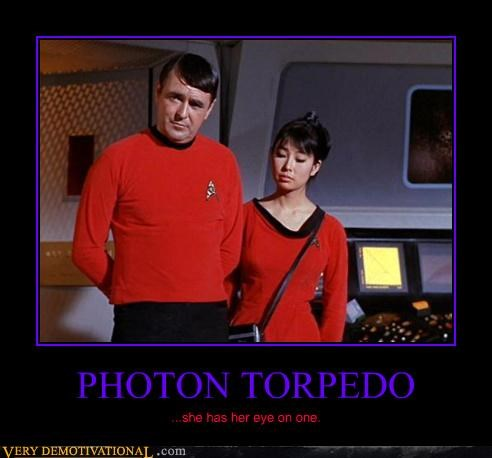 classic eye balling photon torpedo scotty Star Trek - 3840906240