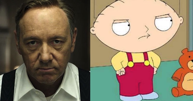 Old Family Guy clip that jokes about Kevin Spacey being a predator is crazy relevant after news of Spacey's sexual assault broke today.