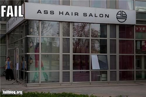 ass,engrish funny,failboat,hair,salon,translation