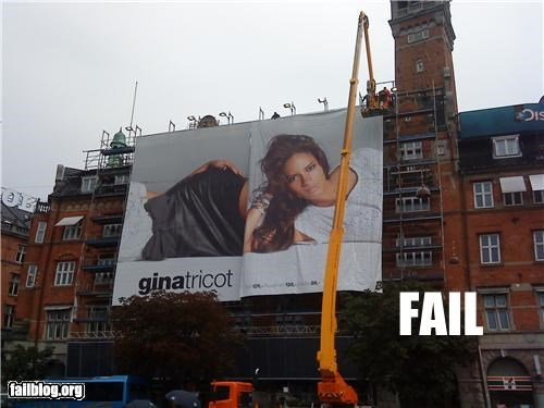Ad billboards failboat g rated wrong order - 3843109888