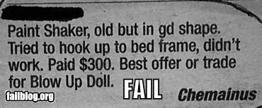 beds,DIY,failboat,for sale,newspaper,painting