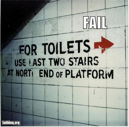 bathrooms directions failboat g rated signs - 3843238400