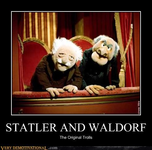 STATLER AND WALDORF The Original Trolls